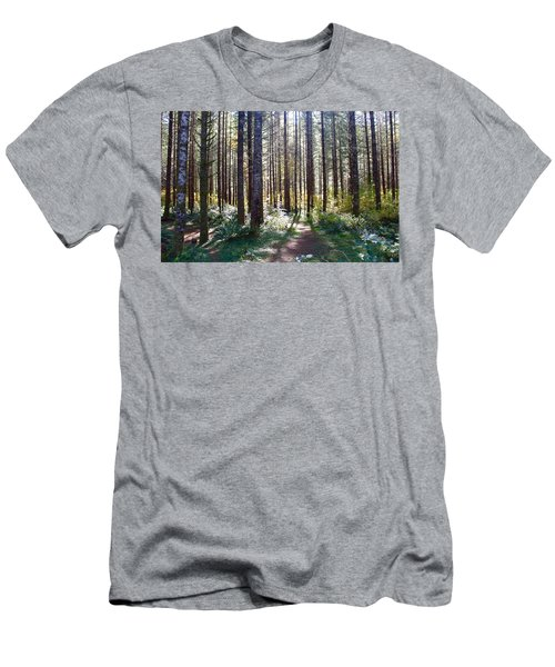 Forest Stroll Men's T-Shirt (Athletic Fit)