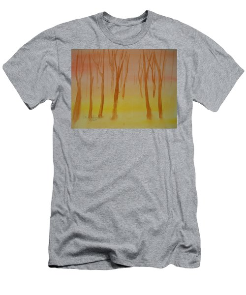Forest Study Men's T-Shirt (Athletic Fit)