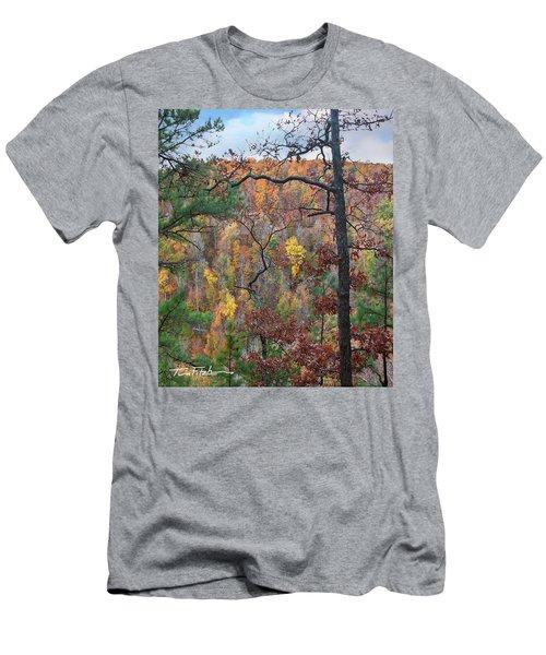 Forest Men's T-Shirt (Slim Fit) by Tim Fitzharris