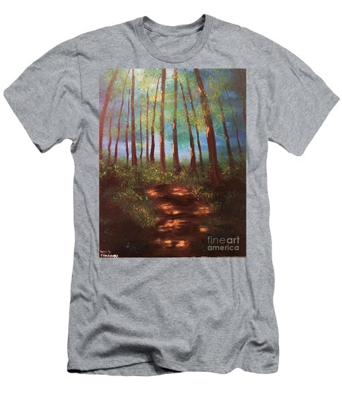 Forests Glow Men's T-Shirt (Athletic Fit)