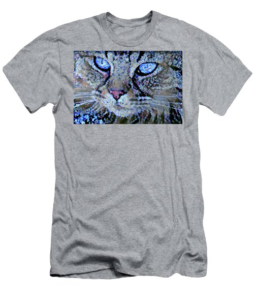 Forget Me Nots Cat - Unforgettable Men's T-Shirt (Athletic Fit)