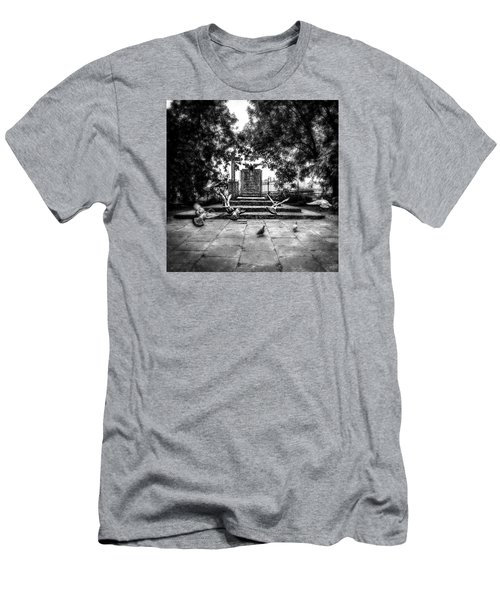 Forgotten Monument Men's T-Shirt (Athletic Fit)