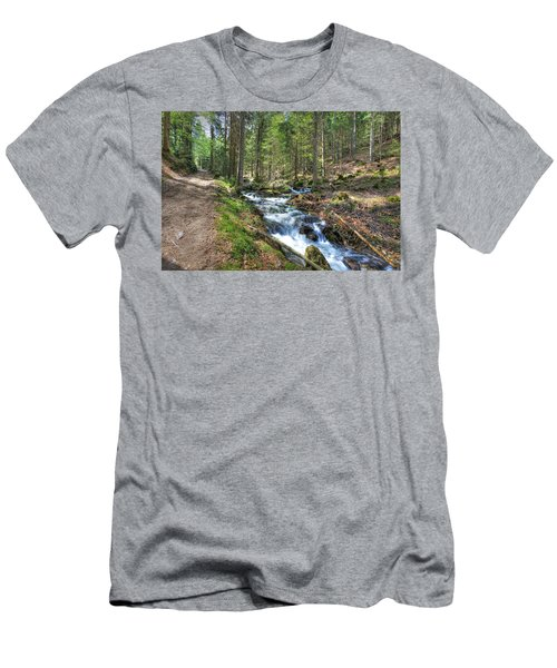 Forked Stream Men's T-Shirt (Athletic Fit)