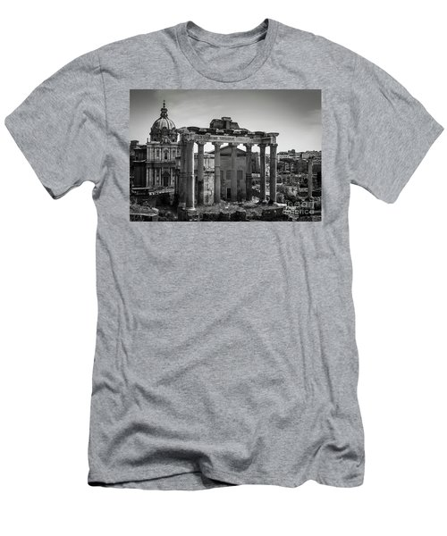 Foro Romano, Rome Italy Men's T-Shirt (Athletic Fit)