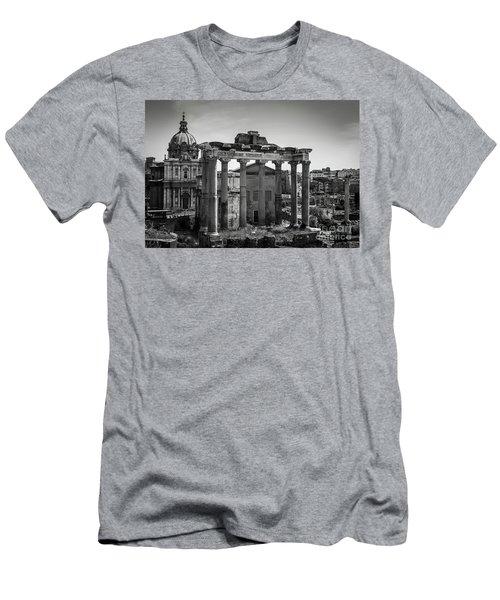 Foro Romano, Rome Italy Men's T-Shirt (Athletic Fit)