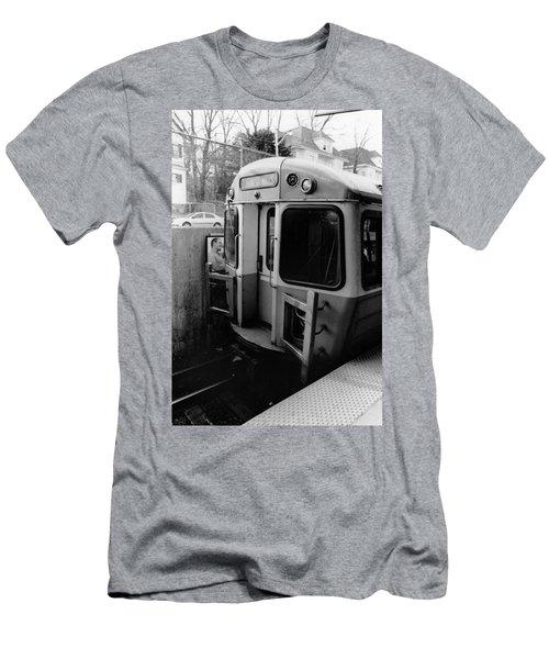 Forrest Hills Stop  Men's T-Shirt (Athletic Fit)