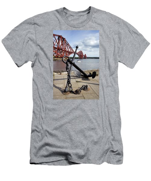 Men's T-Shirt (Slim Fit) featuring the photograph Forth Bridge by Jeremy Lavender Photography