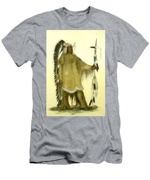 Four Bears Mandan Chief 1833 Men's T-Shirt (Athletic Fit)