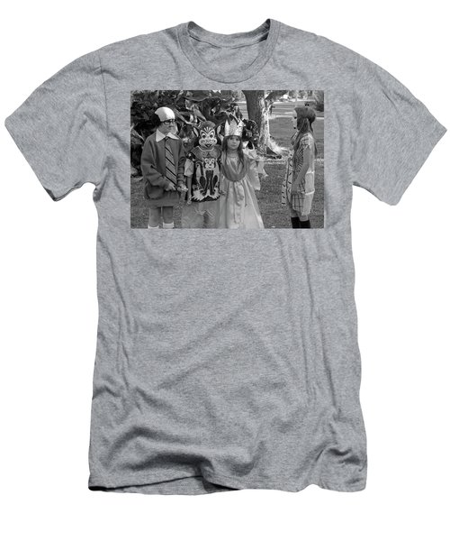 Four Girls In Halloween Costumes, 1971, Part Two Men's T-Shirt (Athletic Fit)