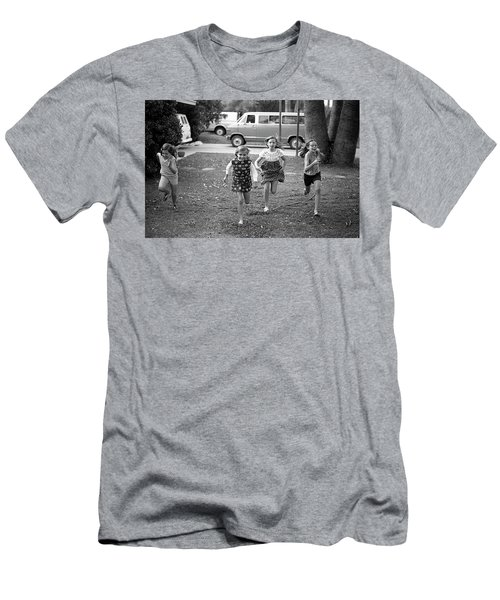Four Girls Racing, 1972 Men's T-Shirt (Athletic Fit)