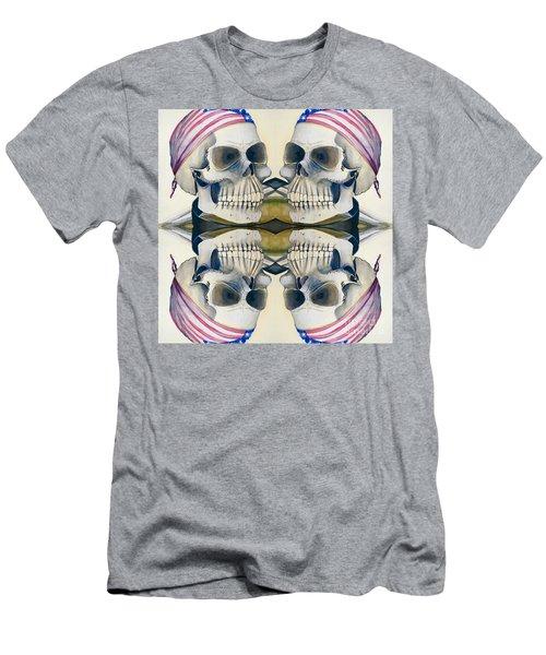 Four Skulls Men's T-Shirt (Athletic Fit)