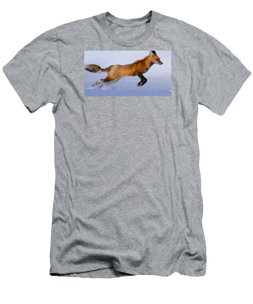 Fox On The Run Men's T-Shirt (Athletic Fit)