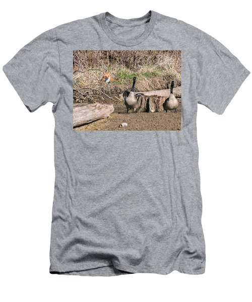 Fox Watch Men's T-Shirt (Slim Fit) by Edward Peterson