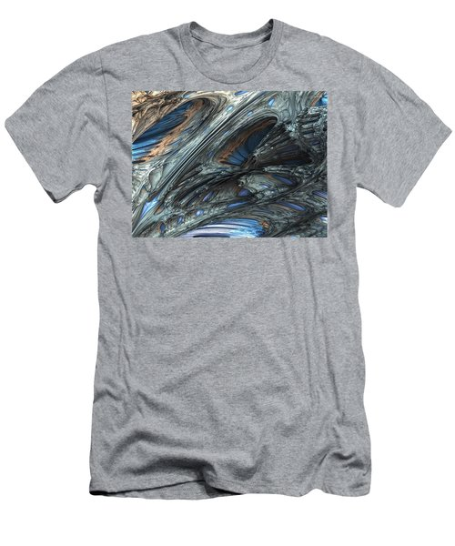 Fractal Structure 001 Men's T-Shirt (Athletic Fit)