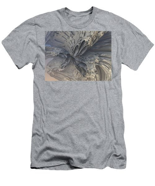Fractal Structure 006 Men's T-Shirt (Athletic Fit)