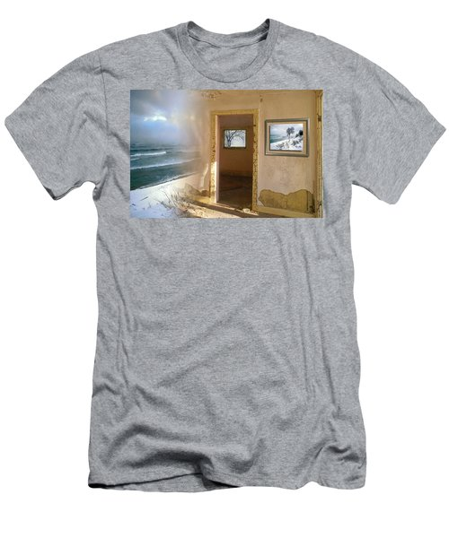 Men's T-Shirt (Athletic Fit) featuring the photograph Framed    by Doug Gibbons