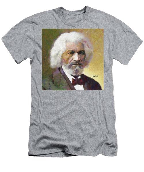 Frederick Douglass Men's T-Shirt (Slim Fit) by Wayne Pascall