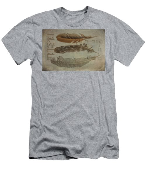 Free Spirit Men's T-Shirt (Slim Fit) by Toni Hopper