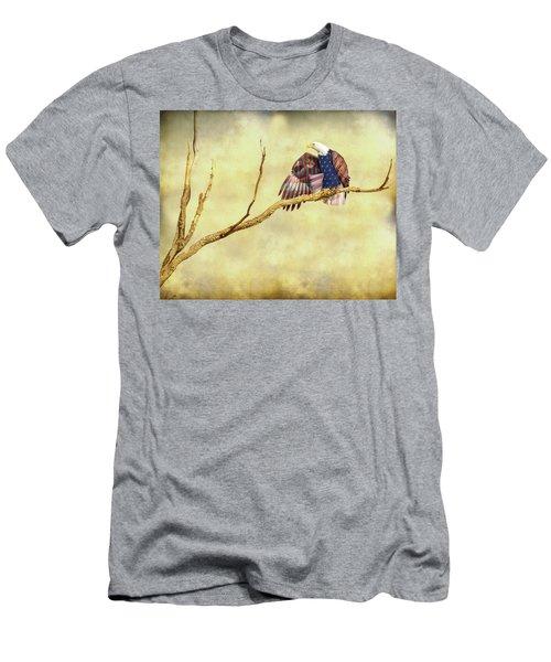 Men's T-Shirt (Slim Fit) featuring the photograph Freedom by James BO Insogna