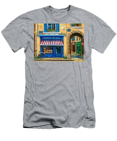 French Cheese Shop Men's T-Shirt (Athletic Fit)