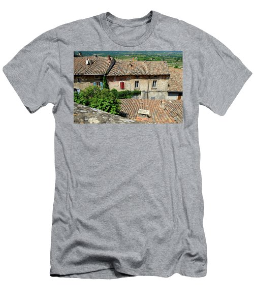 Men's T-Shirt (Athletic Fit) featuring the photograph French House by August Timmermans