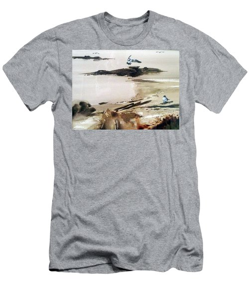 French Lake Men's T-Shirt (Athletic Fit)