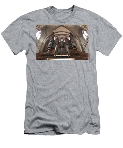 Men's T-Shirt (Slim Fit) featuring the photograph French Organ by Christin Brodie