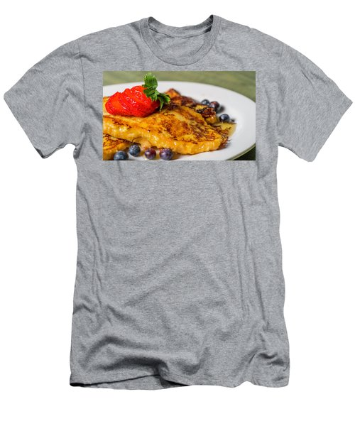 Men's T-Shirt (Athletic Fit) featuring the photograph French Toast by Ryan Smith