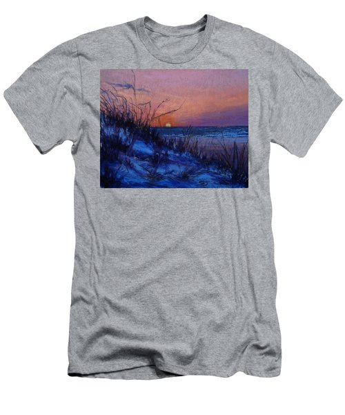 Frenchy's Sunset Men's T-Shirt (Athletic Fit)
