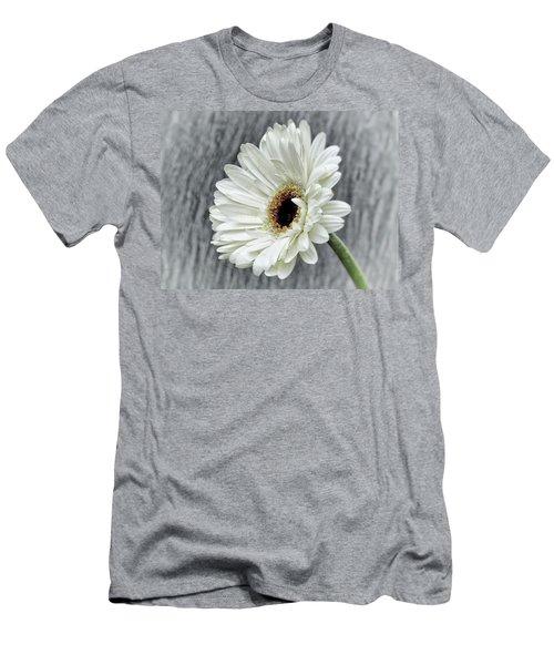 Fresh As A Daisy Men's T-Shirt (Slim Fit) by Karen Stahlros
