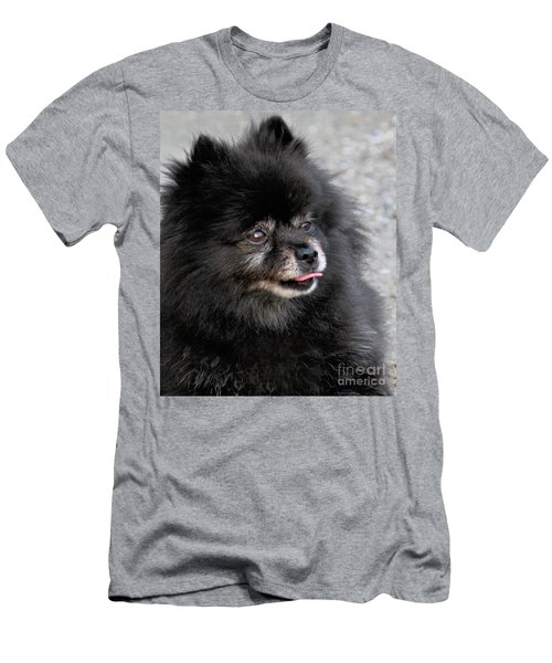 Men's T-Shirt (Athletic Fit) featuring the photograph Fresh Dog by Debbie Stahre