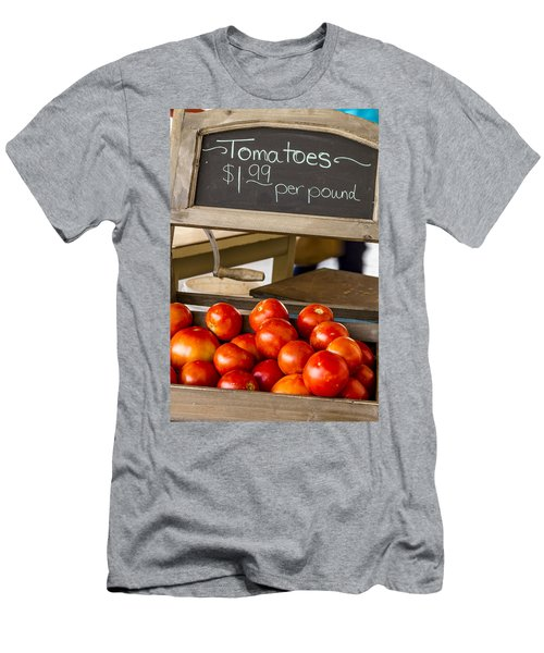 Fresh The Garden Tomatoes Men's T-Shirt (Athletic Fit)