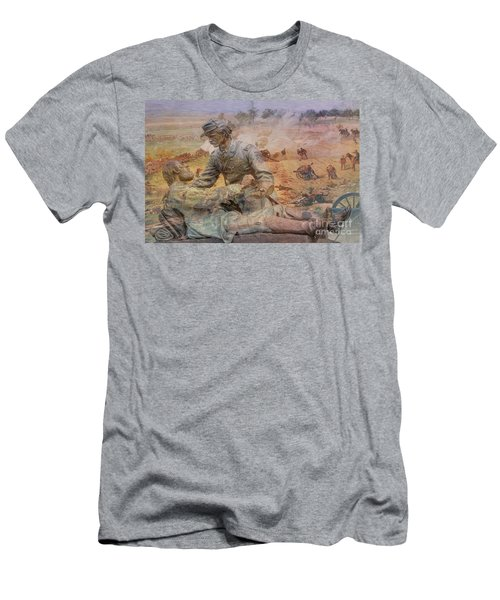 Friend To Friend Monument Gettysburg Battlefield Men's T-Shirt (Athletic Fit)
