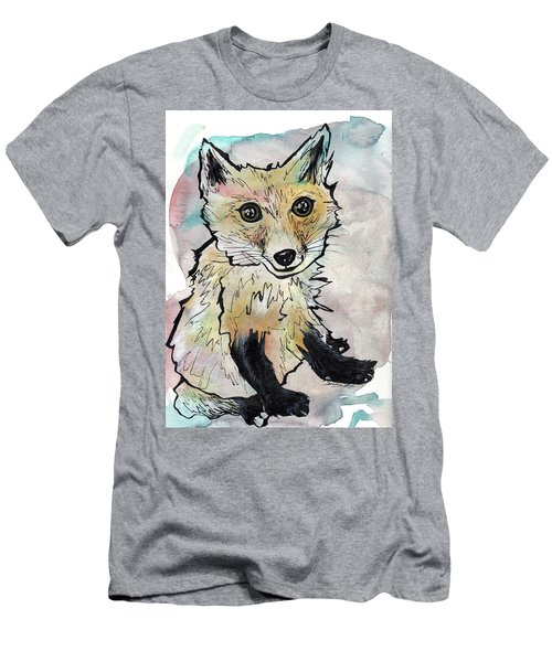 Friendly Fox Men's T-Shirt (Athletic Fit)
