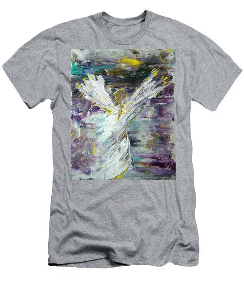 Friends Are Angels Men's T-Shirt (Athletic Fit)