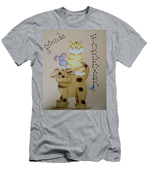 Friends Furever Men's T-Shirt (Athletic Fit)