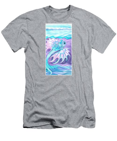 Frilled Fish Men's T-Shirt (Athletic Fit)