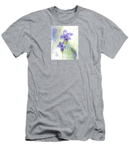 Fringed Gentian Men's T-Shirt (Athletic Fit)