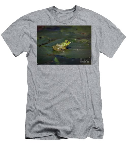 Men's T-Shirt (Slim Fit) featuring the photograph Froggy 2 by Douglas Stucky