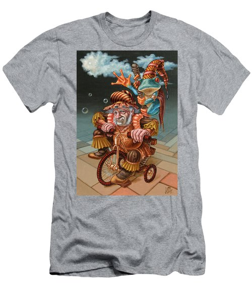 Froggy Circus Men's T-Shirt (Athletic Fit)
