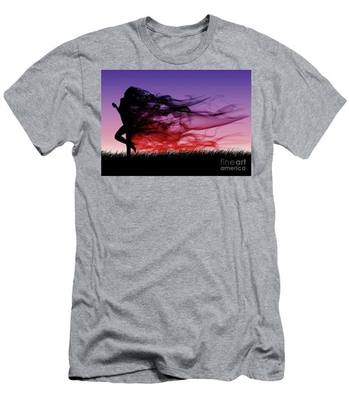 Frolicking Through The Meadow Men's T-Shirt (Athletic Fit)