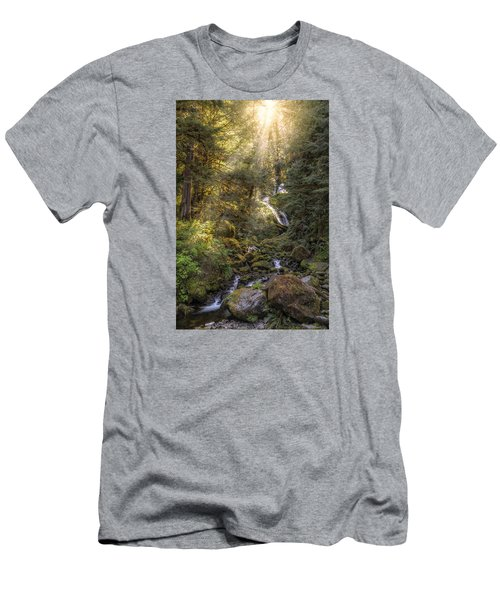 From Above Men's T-Shirt (Slim Fit) by James Heckt