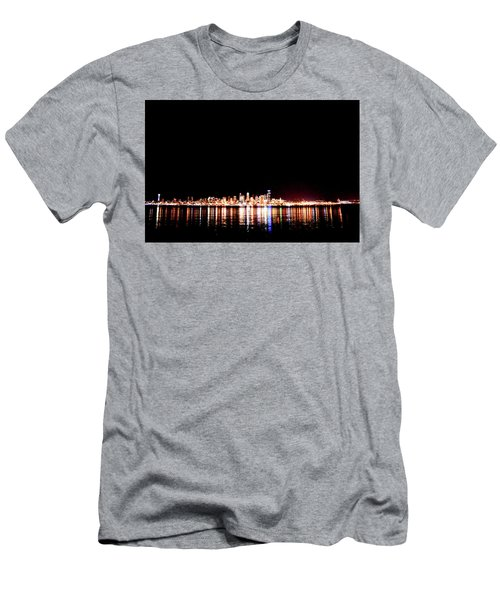 From Alki -wide Men's T-Shirt (Athletic Fit)