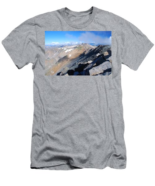 From Atop Mount Massive Men's T-Shirt (Athletic Fit)