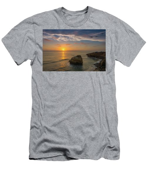 From Surf To Sky Men's T-Shirt (Athletic Fit)