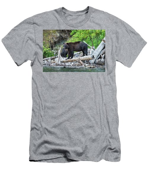 From The Great Bear Rainforest Men's T-Shirt (Slim Fit) by Scott Warner