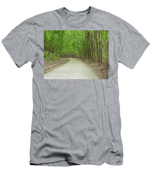 Men's T-Shirt (Slim Fit) featuring the photograph From The Summit by Donald C Morgan