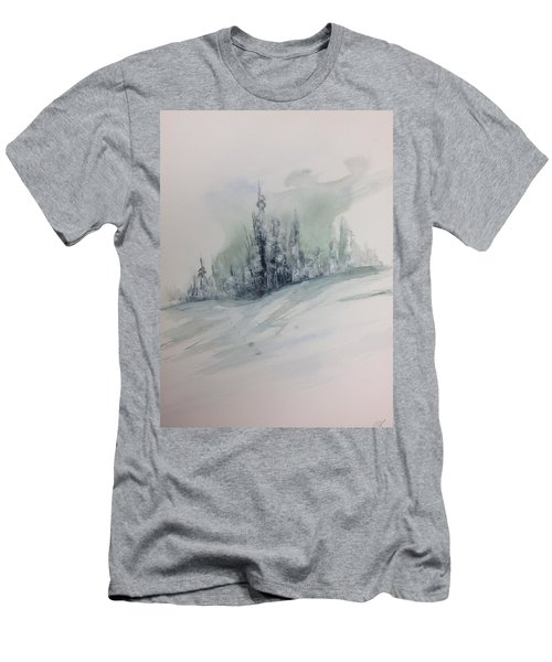 Frost On The Pines Men's T-Shirt (Athletic Fit)