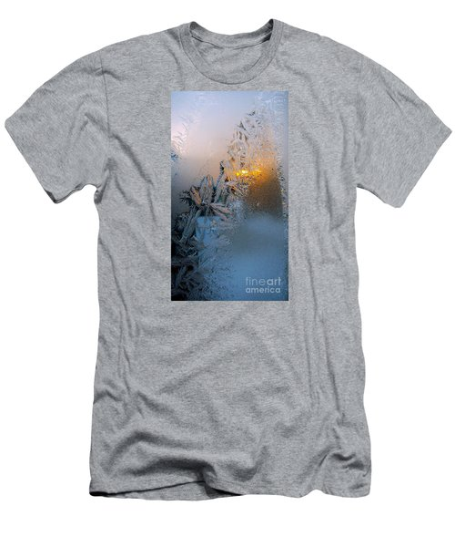 Frost Warning Men's T-Shirt (Slim Fit) by Pamela Clements