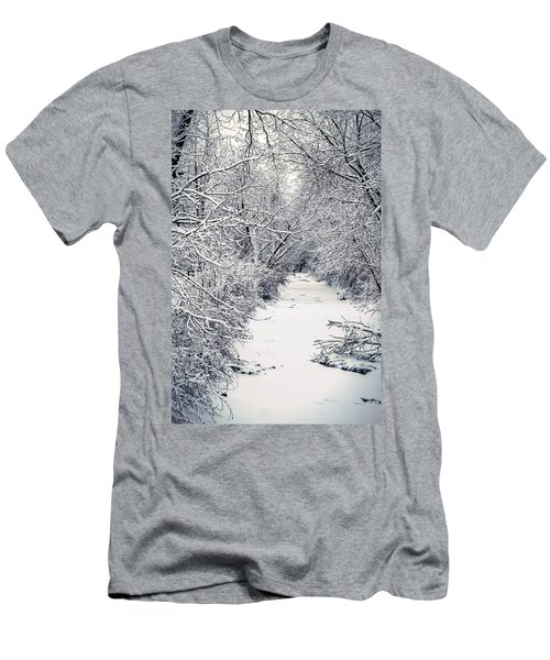Frosted Feeder Men's T-Shirt (Athletic Fit)